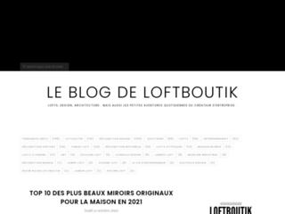 Loftboutik: décorez votre maison ds l'esprit loft !