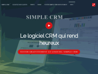 SimpleCRM : Logiciel de gestion de la relation client