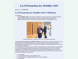 Loi Mobilités 2019