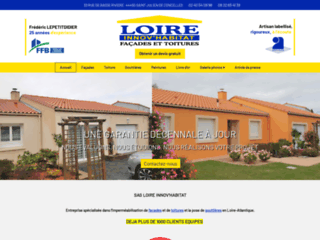 Façade : Loire Innov Habitat à Saint Julien de Concelles 44