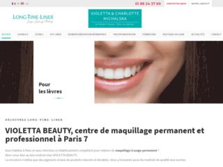 Violetta beauty : institut spécialiste des maquillages permanents