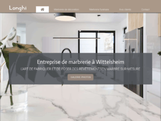 Longhi, entreprise de marbrerie près de Mulhouse