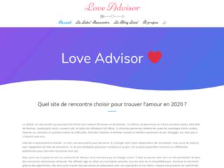 Détails : Love Advisor, guide de sites de rencontre pour trouver l'âme soeur