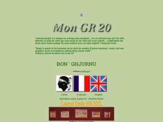 Mon GR20