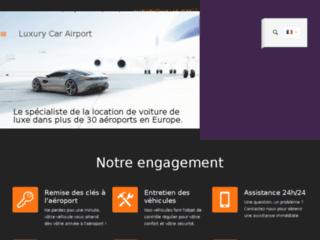 Luxury car airport : location de voiture de luxe