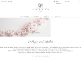 Lysa Creation Bijoux sur http://www.lysa-creation.com