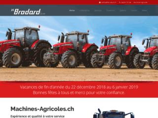 Machines agricoles en Suisse