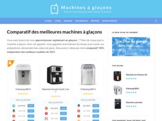 Guide d'achat et comparatif machine à glaçons