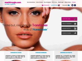 Chirurgie esthétique en Tunisie sur http://www.machirurgie.com