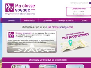 Détails : Ma Classe Voyage - organisation de séjours linguistiques en Europe