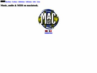MacMusic - Le Macintosh pour l'audio et la musique