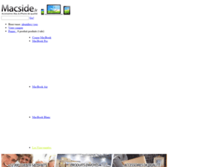 Macside.fr - Coques, housses et bumpers iPhone 4, Macbook Blanc et Macbook Pro