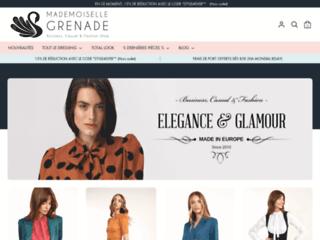 Détails : Mademoiselle Grenade : Prêt-à-porter tendance pour femmes.