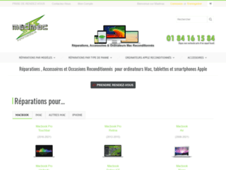 Détails : Ecran macbook cassé
