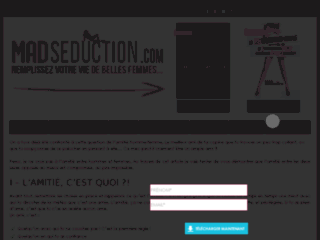 Capture du site http://www.madseduction.com/