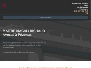 Maître Magali Richaud avocat à Pézenas