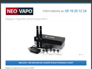 Détails : Magasin de cigarette électronique Neovapo à Niort