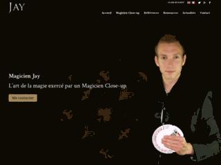 Magicien Jay, un professionnel du spectacle reconnu depuis de longue date