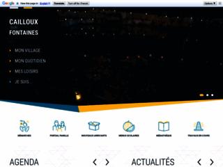 Mairie de Cailloux sur Fontaines