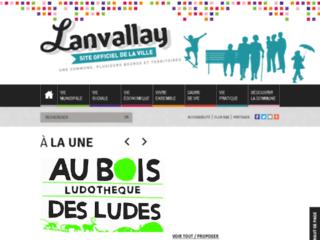 La mairie de Lanvallay