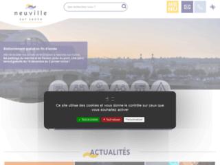 Mairie de Neuville sur Saône