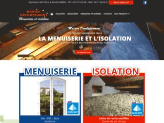 Menuiserie - Isolation : Maison Développement à Beuste (64)