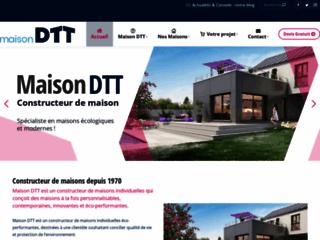 Capture du site http://www.maison-dtt.fr/