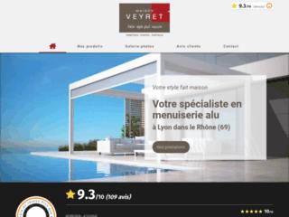 Maison Veyret, menuiseries et fermetures extérieures près de Lyon