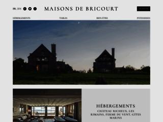 Hôtel Les Maisons de Bricourt