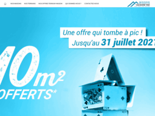 Capture du site http://www.maisonsdaujourdhui.com/