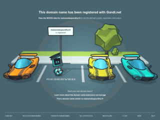 Capture du site http://www.maisonsdaujourdhui.fr
