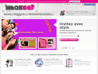 Makeet : Votre carte d'invitation en ligne