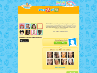 Screenshot du site Makemebabies sur makemebabies.com