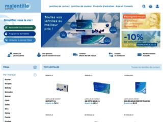 Malentille, achat de lentilles de contact sur http://www.malentille.com