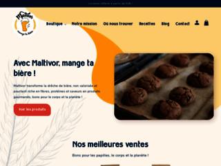 Innovation alimentaire, farine de dreches