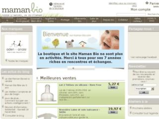 Boutique en ligne de produits bio pour maman, bébés et enfants