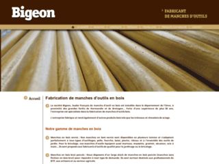 Fabricant de manches en bois Bigeon
