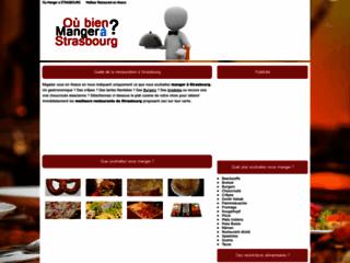 Dans quel restaurant manger à Strasbourg ?