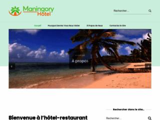 Maningory hôtel