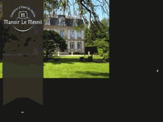 Manoir le Mesnil Chambres d'hôtes à proximité de Deauville, Trouville. Week end en basse Normandie