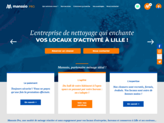 Manssio Pro, société de nettoyage pour les entreprises