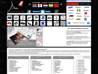 Capture du site http://www.manuel-notice.fr