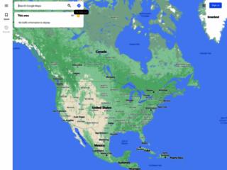 Apparizione del Signore e della Madonna su Google Maps