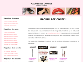 Conseils maquillage