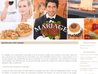 Détails : Mariage-boutique
