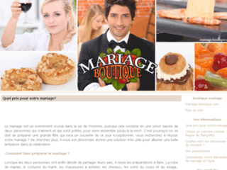 Mariage-boutique