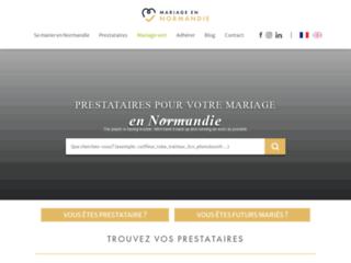 Mariage en Normandie - la plateforme locale du mariage en Normandie