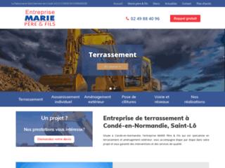 Entreprise de terrassement à Vire et Saint-Lô