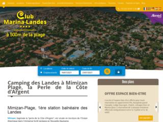 Le blog Camping Club Marina Landes