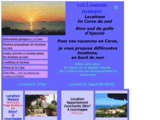 Location Corse vacances